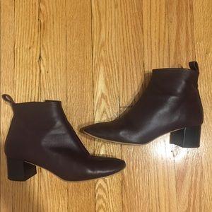 Everlane day boot burgundy size 6